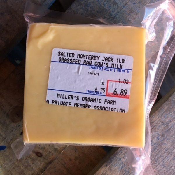 Monterey Jack - per lb